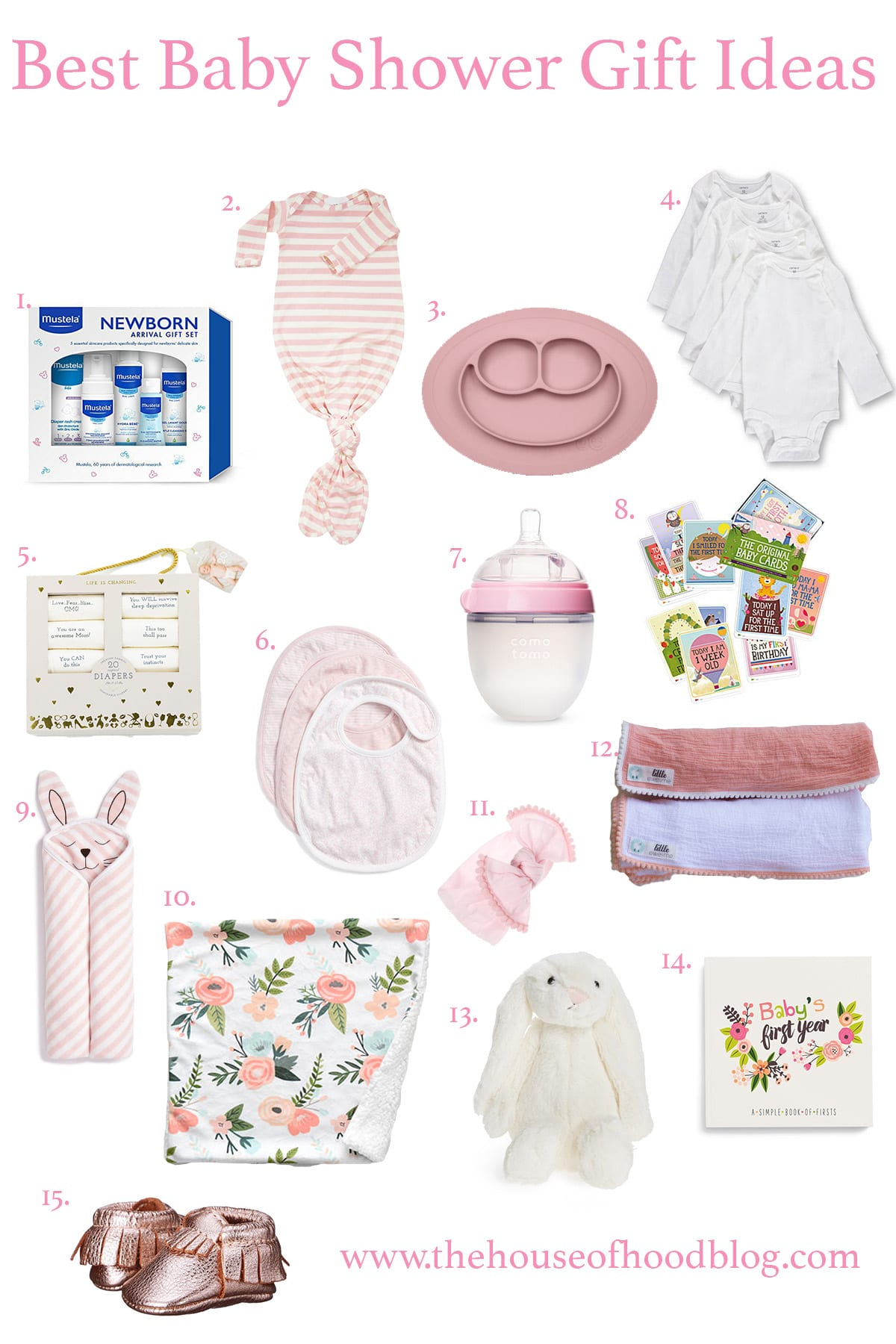 Baby Gift Guide : My favorite baby shower gift ideas the house of hood
