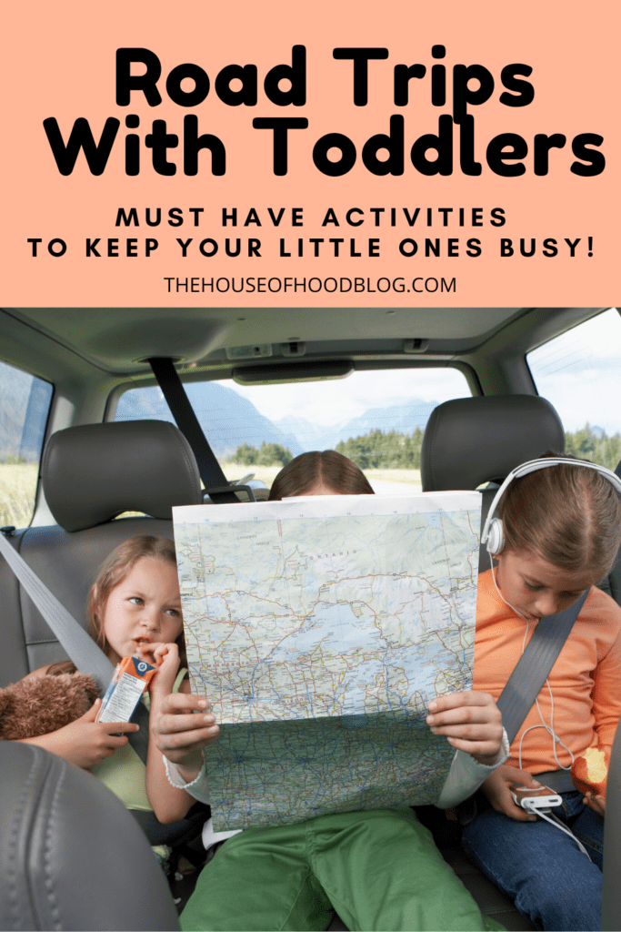 road trips with toddlers and little kids