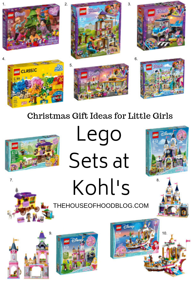 Lego Sets at Kohl\'s - Christmas Gift Ideas - The House of Hood Blog