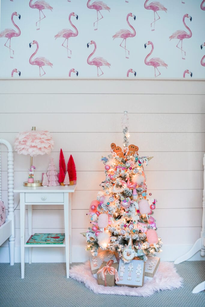 Little Girls Christmas Tree Pink Christmas Tree Decorations