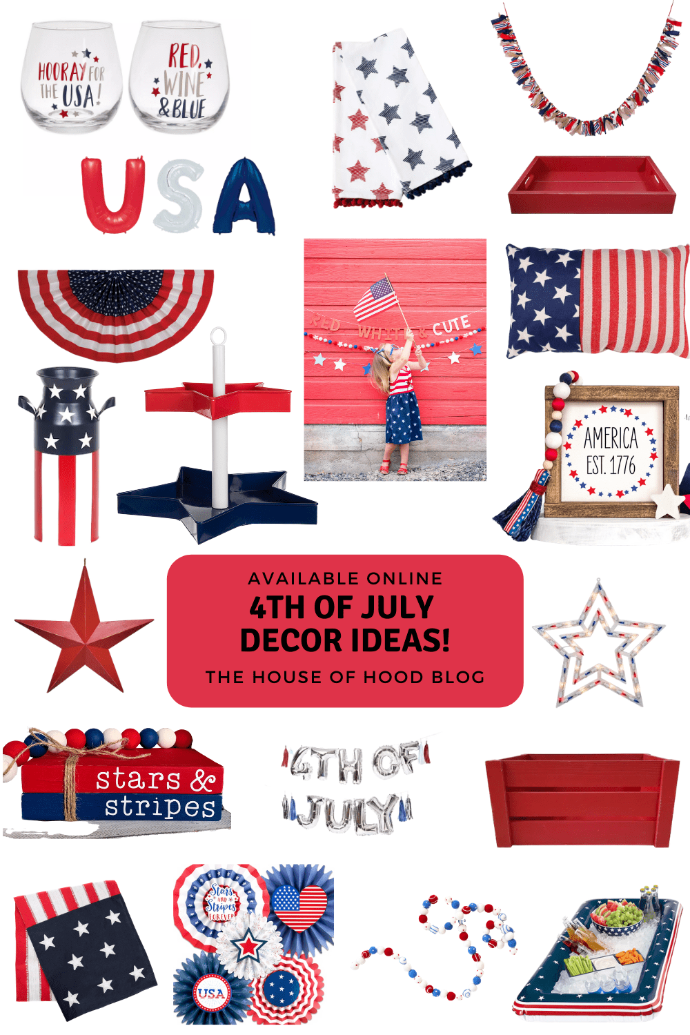 Fourth Of July Home Decorations