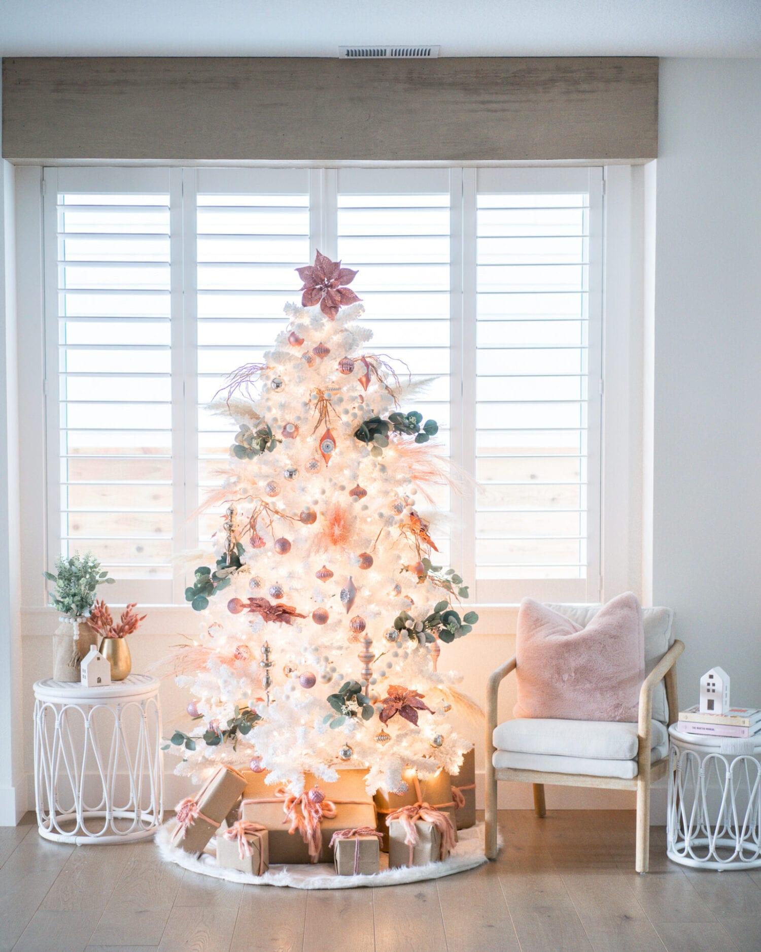 Boho Christmas Tree Decor