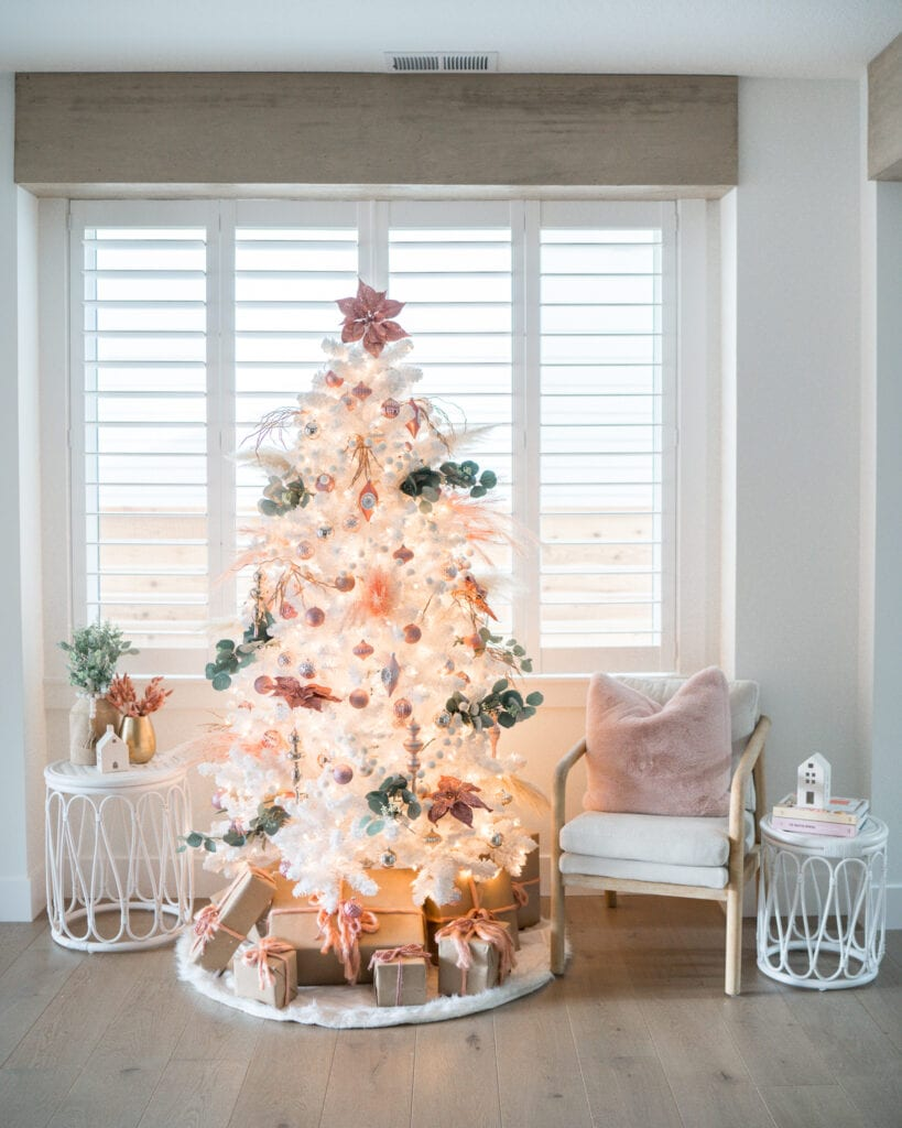 Boho Christmas Tree Decor