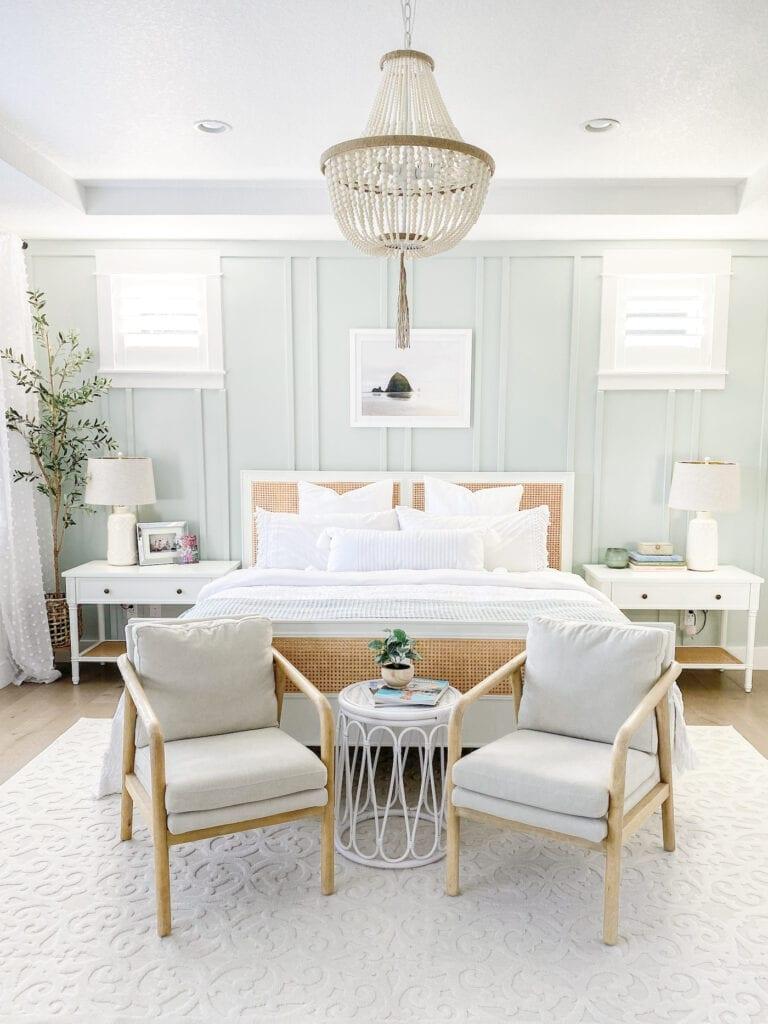 Master Bedroom Decor Our Modern Coastal Bedroom